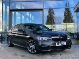 image for 2020 BMW 5 SERIES DIESEL SALOON 520d MHT M Sport 4dr Auto Saloon Diesel Automati