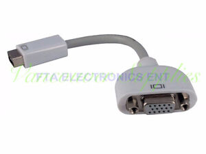 Mini DVI TO VGA Converter Cable for MAC iMac and MacBook Pro Mon