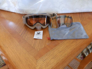 Dragon Goggles Excellent Condition w Night Lenses