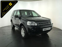 2012 62 LAND ROVER FREELANDER XS TD4 1 OWNER 4WD SERVICE HISTORY FINANCE PX