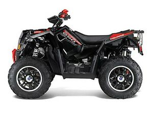 2013 Polaris Scrambler XP 850 H.O. EPS Gloss Black LE