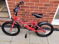 "Bumper Blazer boys bike, ages 6-8 (18"")"