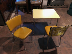 Vintage children's Table and Chairs set