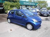 Toyota AYGO 1.0 VVT-i AYGO Blue 2008£20/YEAR TAX EXCELLENT
