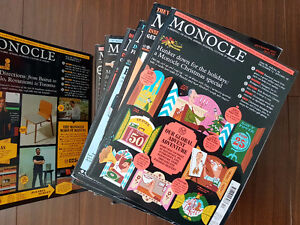 Monocle Magazine Collection | Collection of 38 Back Issues