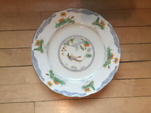 53 piece antique plate set