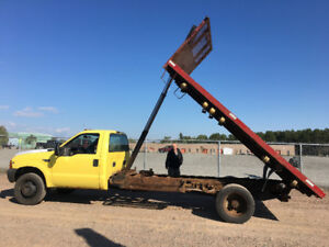 2003 FORD F550 4x4 FLAT BED BUMP 170.000kms 6995$@902-293-6969