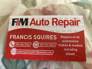 F&M Auto Repair Services