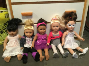 My Life Dolls and Many Accessories