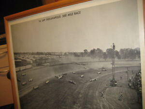 1958 INDIANAPOLIS 500 CAR RACE PICTURE Kitchener / Waterloo Kitchener Area image 2