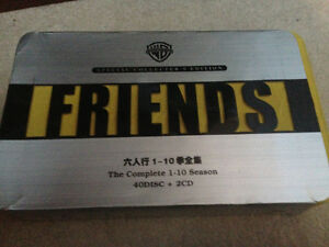 Complete set of Friends All 10 Seasons DVDs