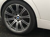 BMW M3 19inch ALLOY WHEELS for swaps BMW 18s