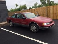One owner 1989 olds cutlass supreme