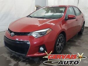 Toyota Corolla S Cuir/Tissus MAGS Bluetooth 2015