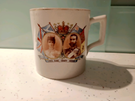 King George V & Queen Mary Mug