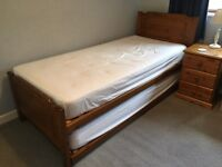 Relyon Deluxe Guest/Stacker Bed - Antique Pine