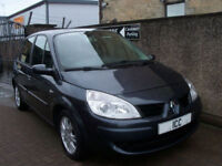 09 09 RENAULT SCENIC 1.5 DCi 5DR DIESEL 1 LADY OWNER F.S.H AIRCON ALLOYS