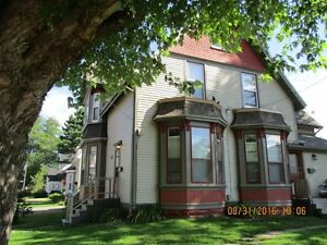 2 bedroom unit in a Century home