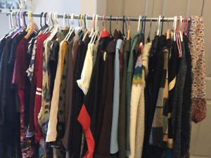 Ladies Rack of clothing for sale
