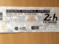 24 hours of Le Mans Ticket