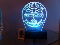 LED LIGHT ACRYLIC BUSINESS LOGO