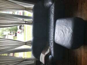 Free couch, chair, love seat and ottoman.