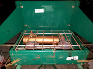 Camp stove with stand