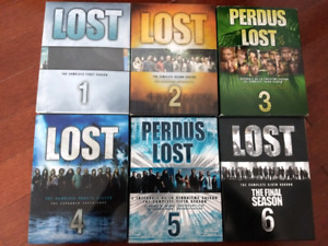 LOST - DVD Seasons 1 to 6