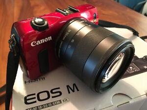 Canon EOS M EF-M 18-55 IS STM -SOLD-SOLD-SOLD- Edmonton Edmonton Area image 1