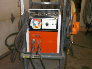 Aluminium steel and stainless mig welder