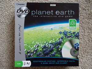PLANET Earth DVD Board Game-New (pieces still sealed) London Ontario image 1