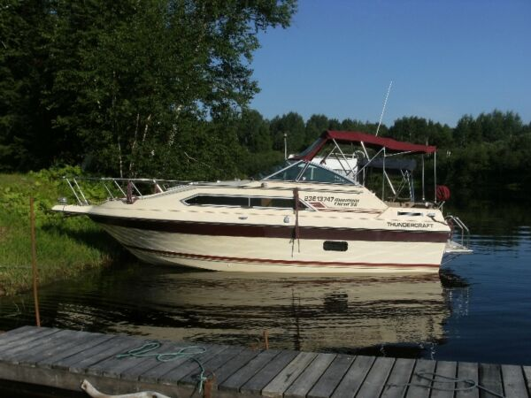 Used 1986 Thunder Craft Boats Magnum Express 25'