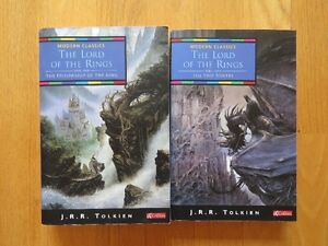 The Lord of the Rings, Book 1 and 2 by J.R.R. Tolkien