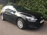 VOLKSWAGEN GOLF S TSI BLUEMOTION TECHNOLOGY 2013 Petrol Manual in Black