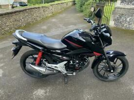 2015 (65) Honda CB125F / GLR125 - Black (Onyx Blue) - 5381 miles