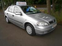 02 Vauxhall/Opel Astra 1.6i auto 2002MY Envoy in silver