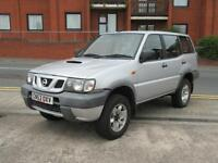 2004 NISSAN TERRANO 2.7 TD 4X4 6 SEATER 5 DOOR TURBO DIESEL