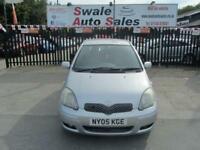 2005 TOYOTA YARIS 1.3 COLOUR COLLECTION VVT-I 5 DOOR 86 BHP