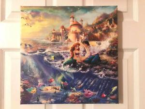 Little Mermaid Canvas Print - Thomas Kinkade Company