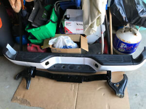 2012 Tacoma  4x4 rear bumper with inserts