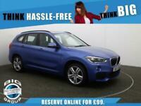 2017 BMW X1 XDRIVE20D M SPORT Auto Estate Diesel Automatic