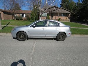 2007 Mazda3 Sedan, GS Model--Price negotiable.