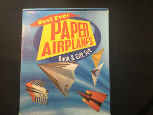 Brand New and not USED Best Ever Paper Airplanes Gift Set. $10.