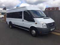 Ford Transit 140 T430 RWD 17 SEATER MINI BUS 2011 99K NO VAT