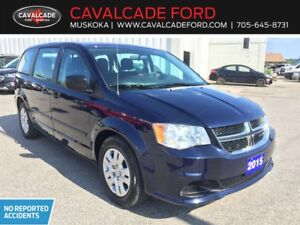 2015 Dodge Grand Caravan SE / SXT certified van