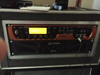 Eleven rack and crown power amp
