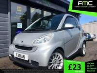 2010 Smart fortwo Passion 800cc Turbo Diesel **Full History - 70MPG**