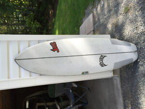 Lost/Libtech Puddle jumper surfboard