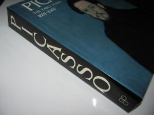 Huge vintage PICASSO coffee table book Blue & Rose Period