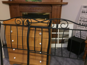 Pair of matching twin headboards- MINT